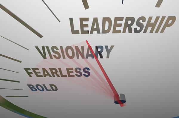 Having more leadership courage