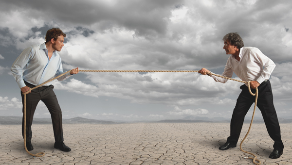 Leaders keep their cool during conflict