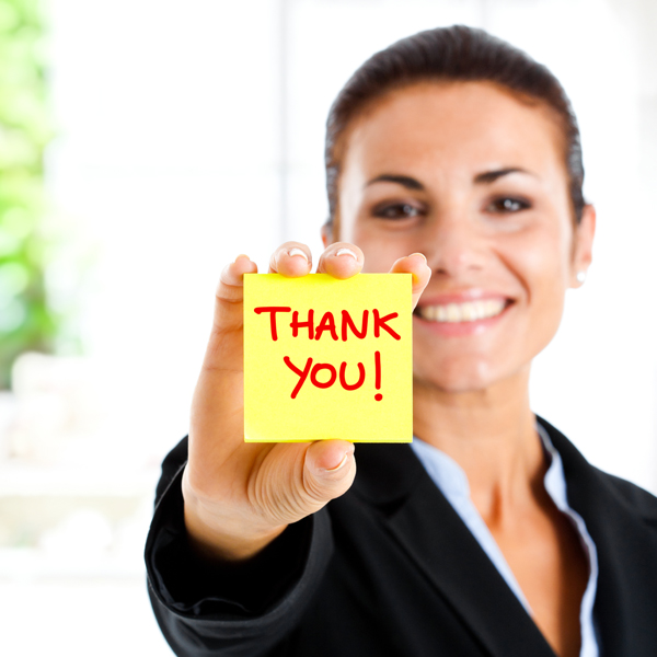 Be a Grateful Leader – Say Thank You