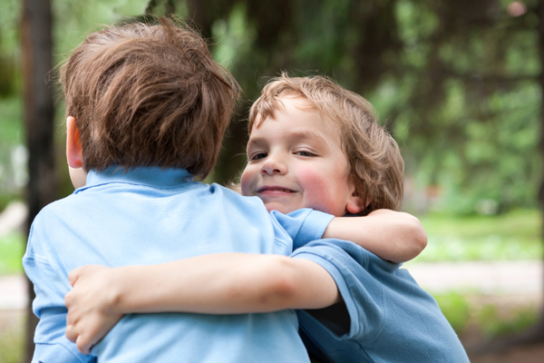 Brothers Stick Together – Children Leading
