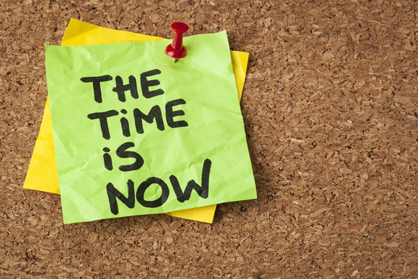 Stop Procrastinating – The Time is Now – Eat That Frog