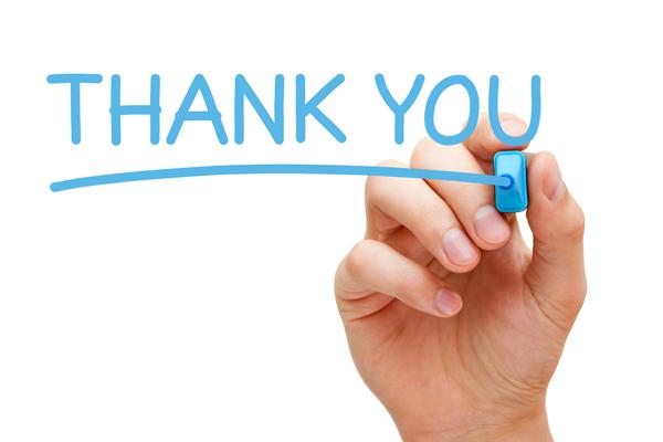 Thank You Attitude of Gratitude