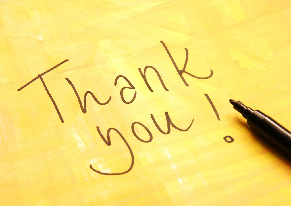 Leaders Must Say Thank You and Why