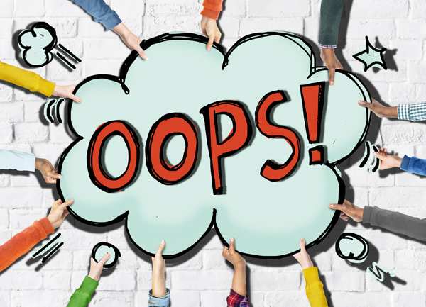 Good Leaders are Okay with Admitting Mistakes