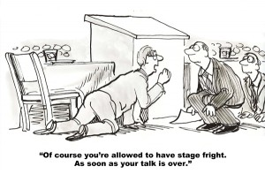 Public Speaking and Stage Fright
