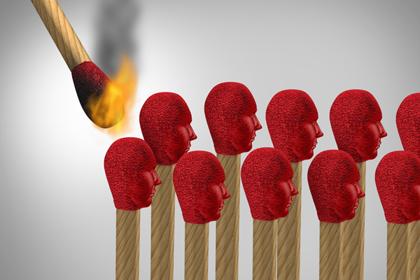 Igniting teamwork. There is an I in teamwork.