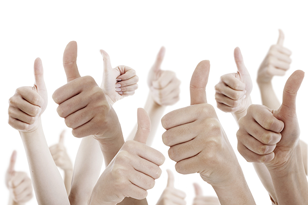 Members of Team Do This Instead – Thumbs Up