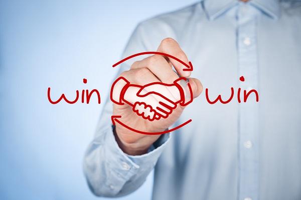 Win Win in Teamwork Story