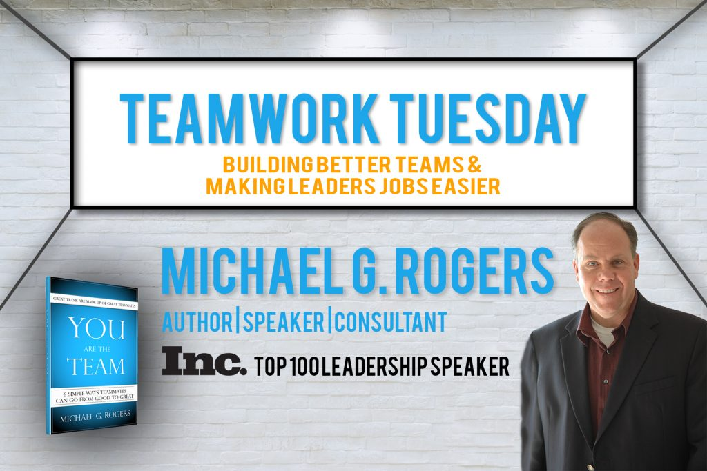 Teamwork Tuesday – Motivate every member of your team by… post image